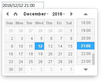 datetimerpicker